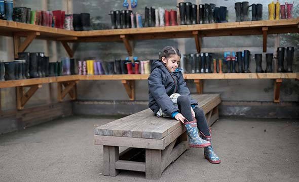 Prince's Gardens pupil ready to explore